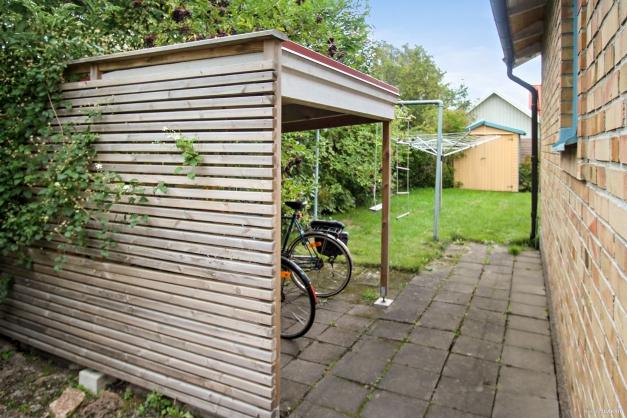 Cykelparkering under tak