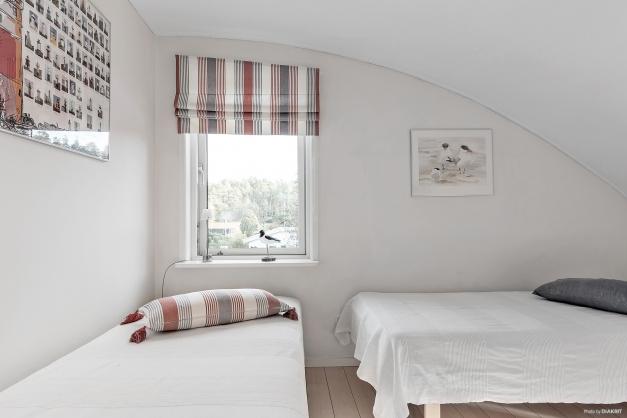 Sovrum på andra våning