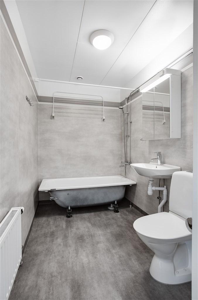 Renoverat badrum.