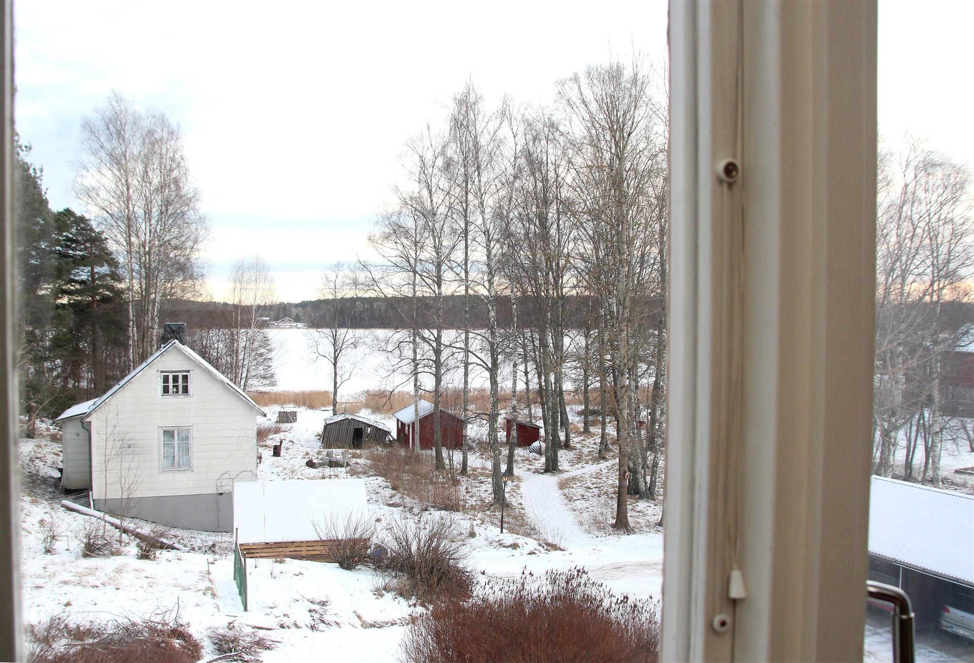 Utsikt från från sovrum
