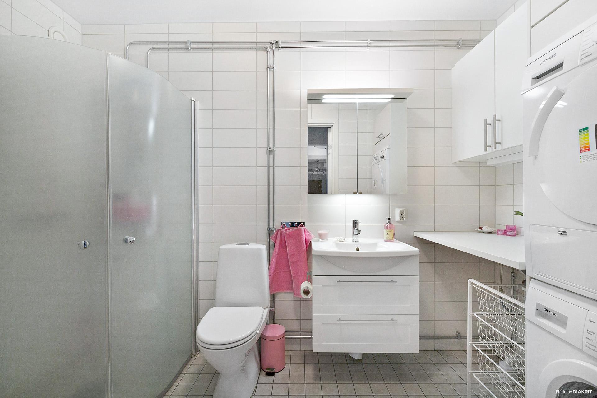 Duschrum/tvätt