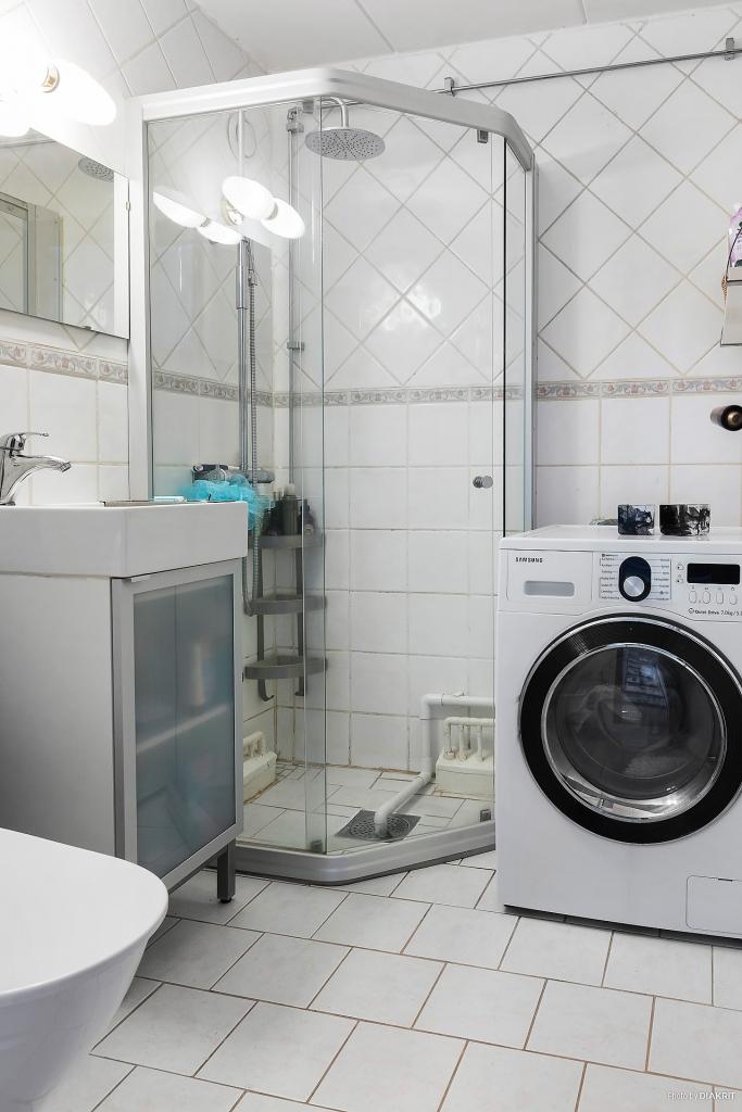 Badrum/tvättstuga
