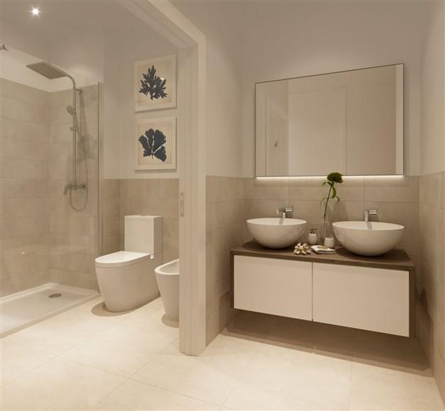 Illustrationsbild - bathroom
