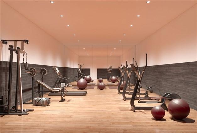Illustrationsbild - gym