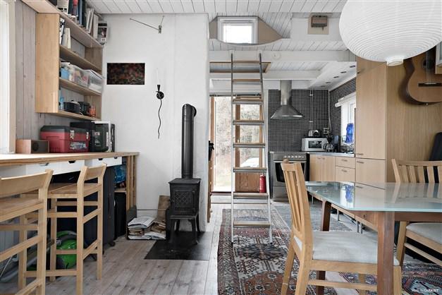 Kök/Vardagsrum Gäststuga