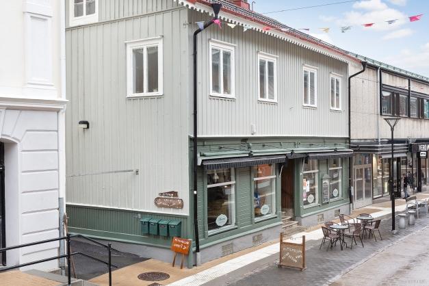 Affärslokal mot Storgatan
