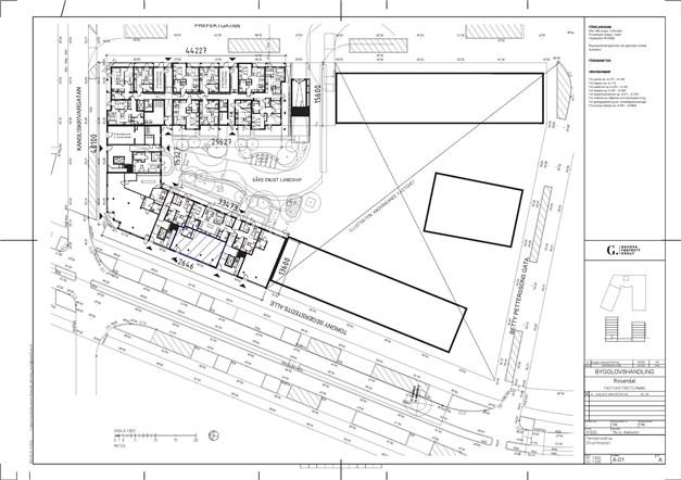 Situationsplan - 89 m²
