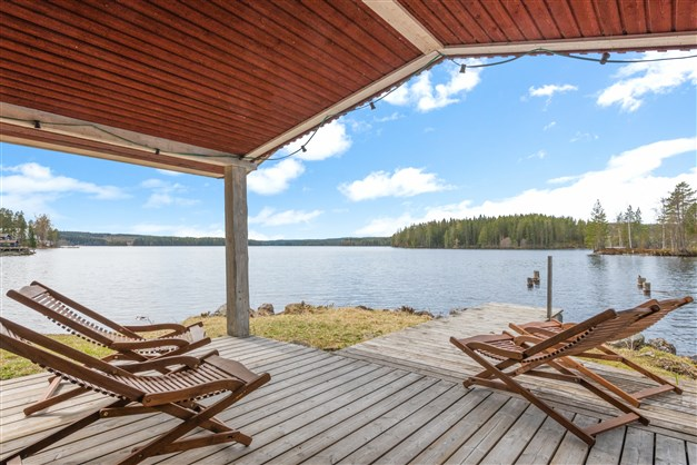 Tänk att sitta här och njuta av utsikten en ljum sommarkväll.