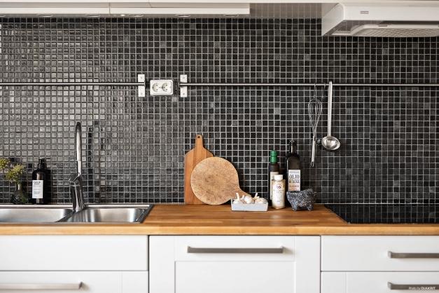 Kök med läckra materialval