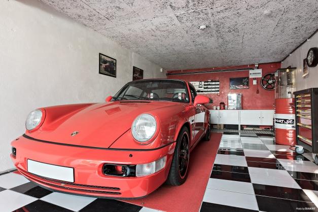 Garage med det där lilla extra.
