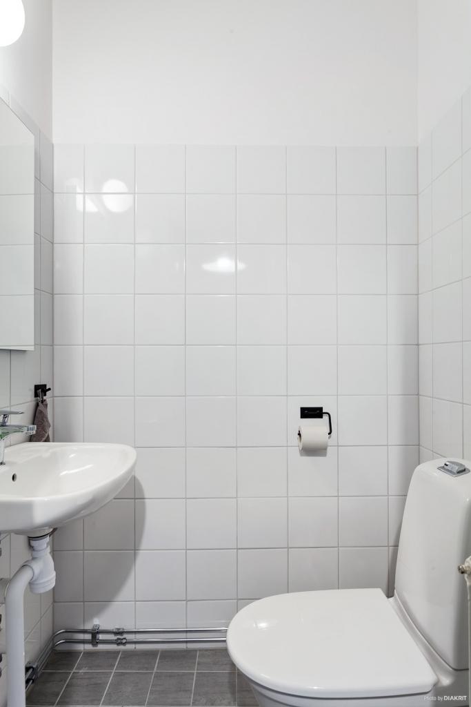 Helkaklad toalett.