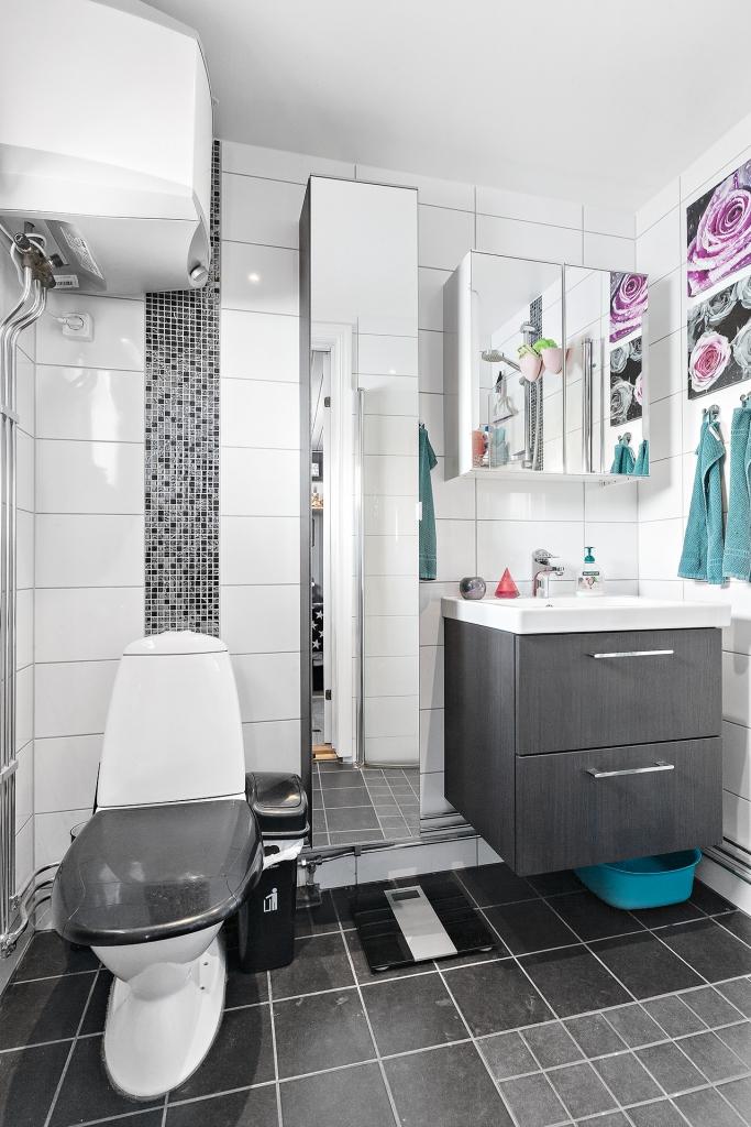 Badrum i gästhuset