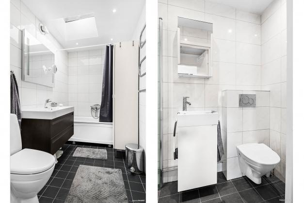 Badrum och duschrum