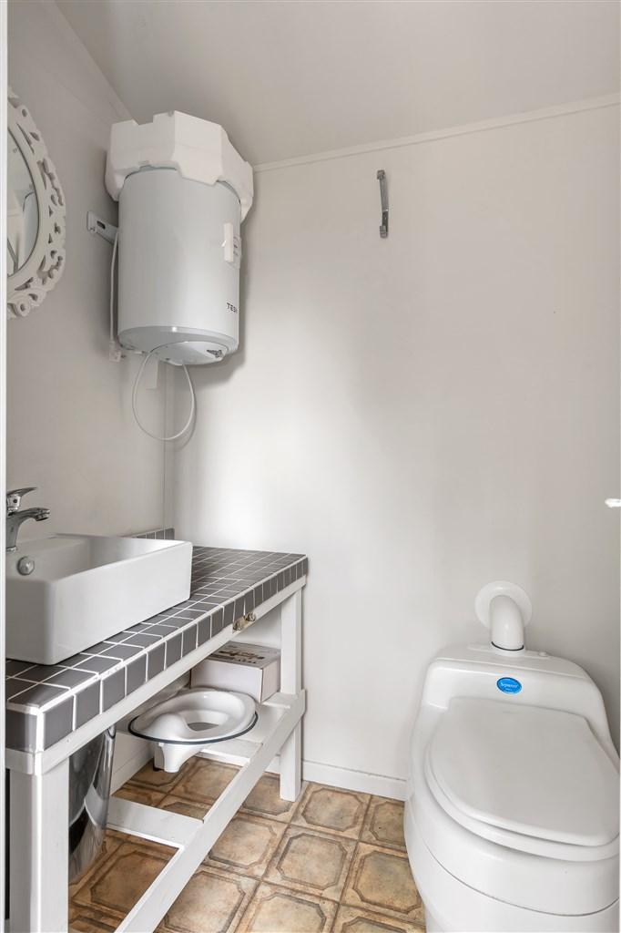 WC med separett samt handfat