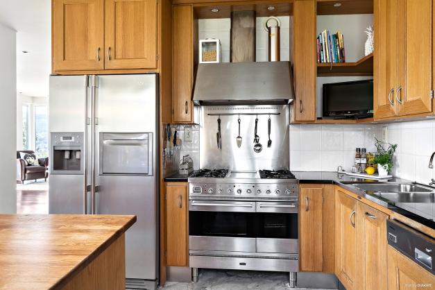 Kök, påkostade vitvaror och gasolspis