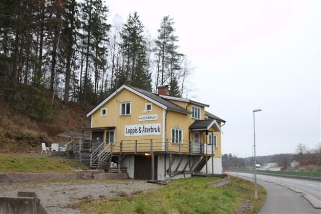 Kontorsbyggnad med bra skyltläge