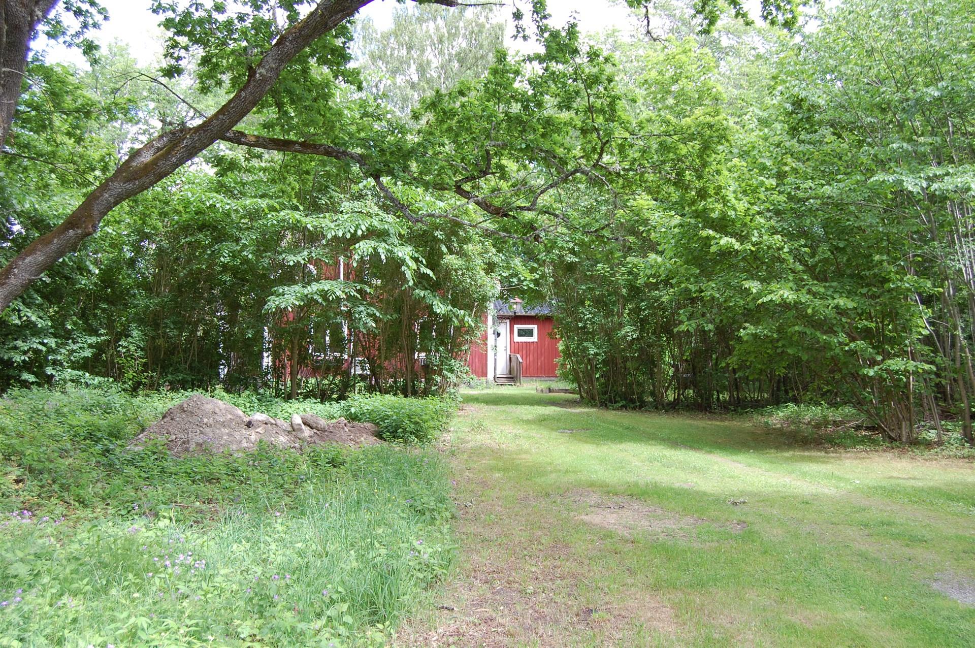 Ingången till huset