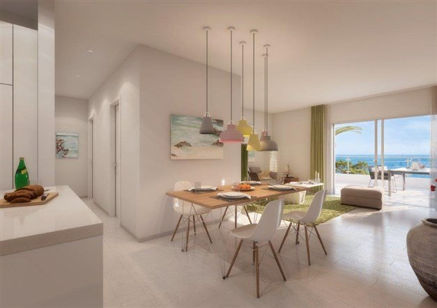 Illustrationsbild - Stilrena bostäder i harmonisk omgivning
