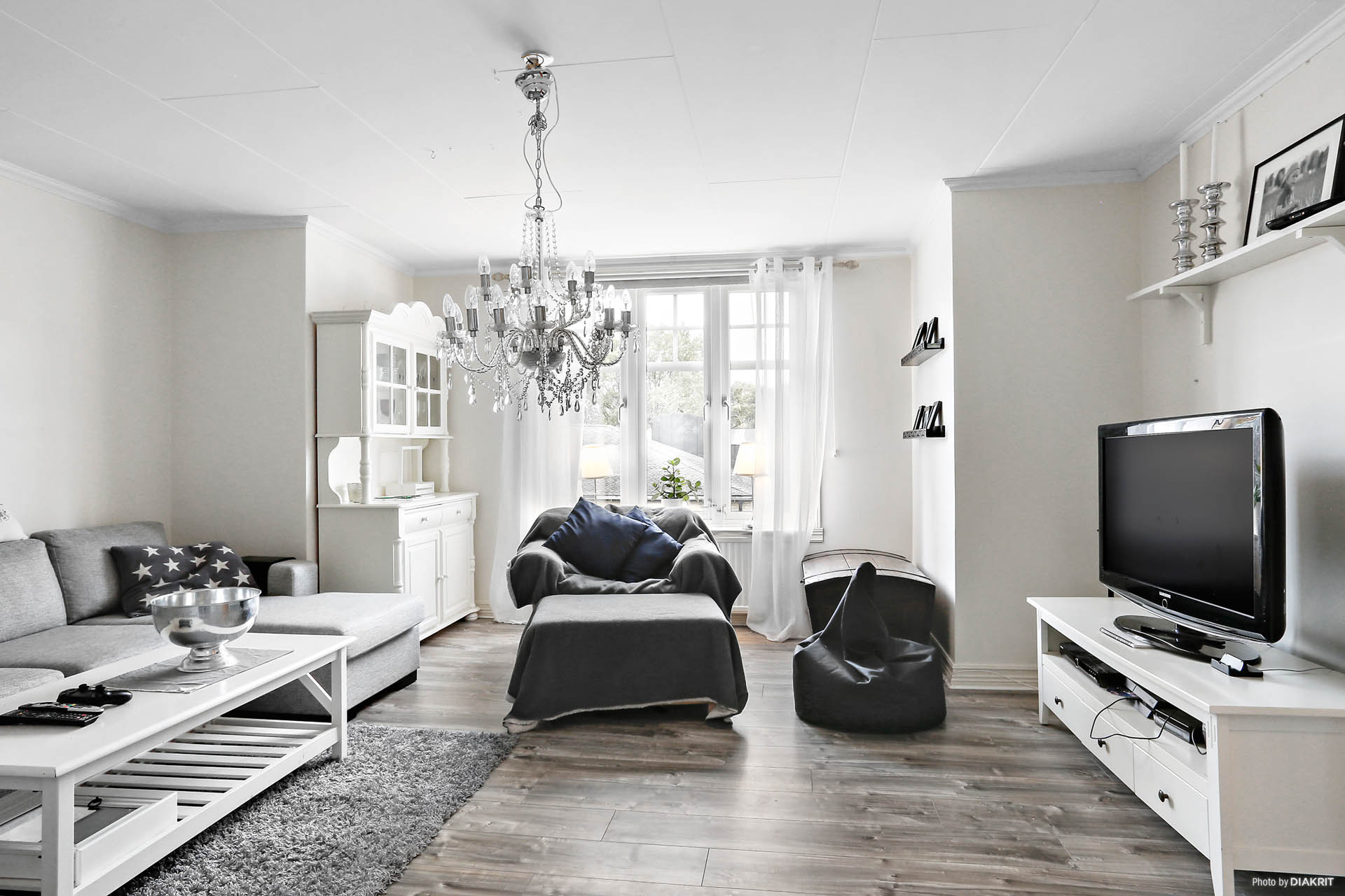 Lägenhet 3: Vardagsrum