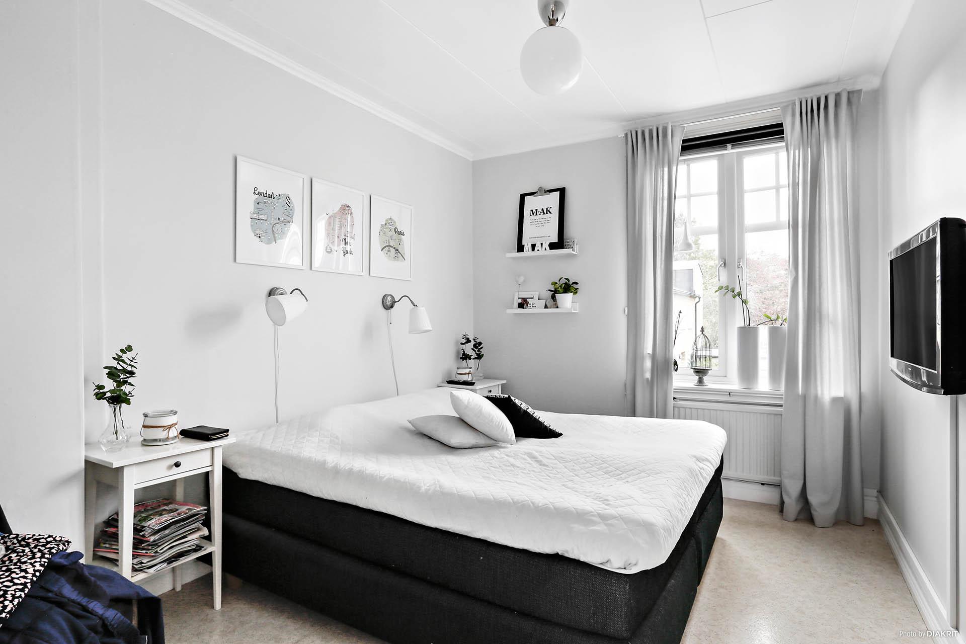 Lägenhet 2: Sovrum 1