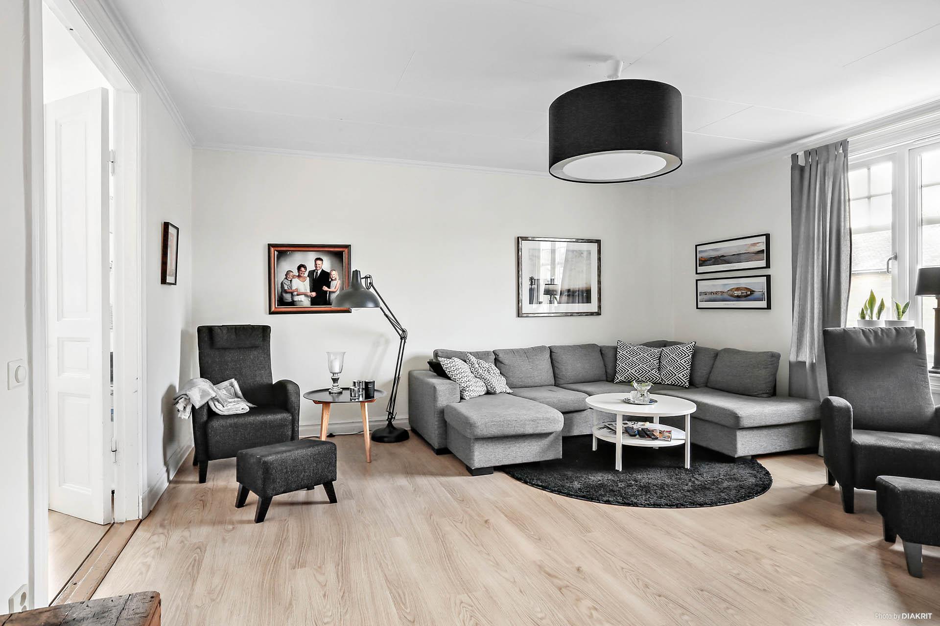 Lägenhet 2: Vardagsrum