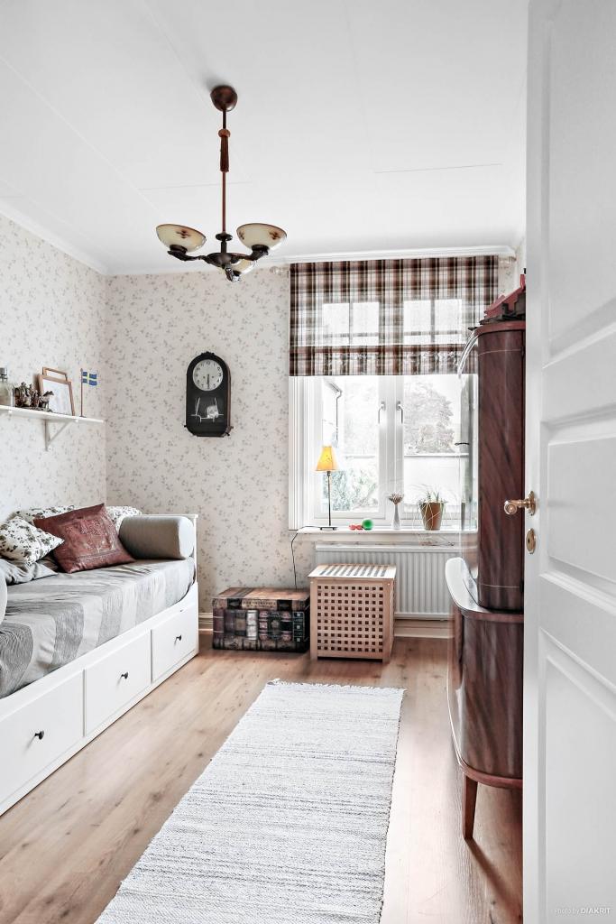 Lägenhet 1: Ett av sovrum