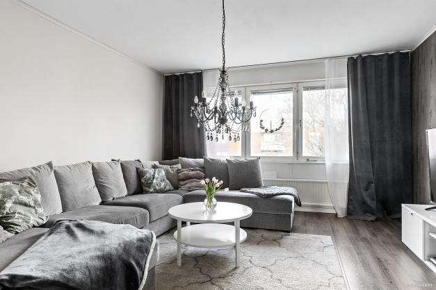 Trivsamt vardagsrum