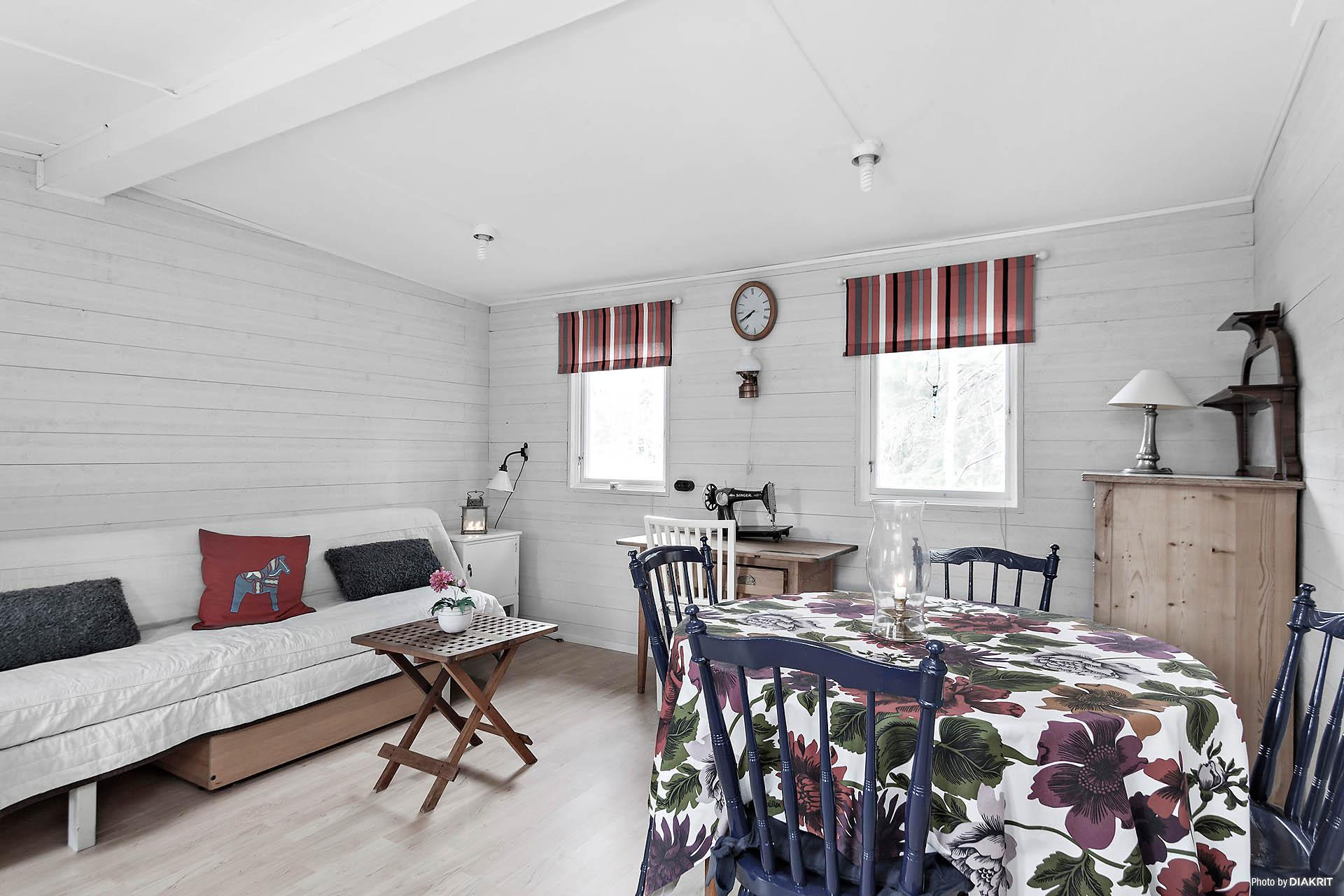 Goda möbleringsytor och högt i tak