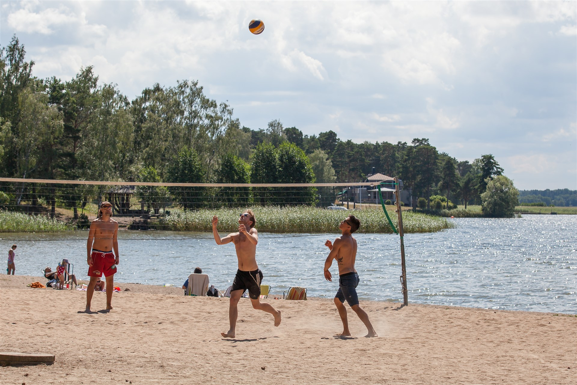 Beachvolleyboll för de aktiva!