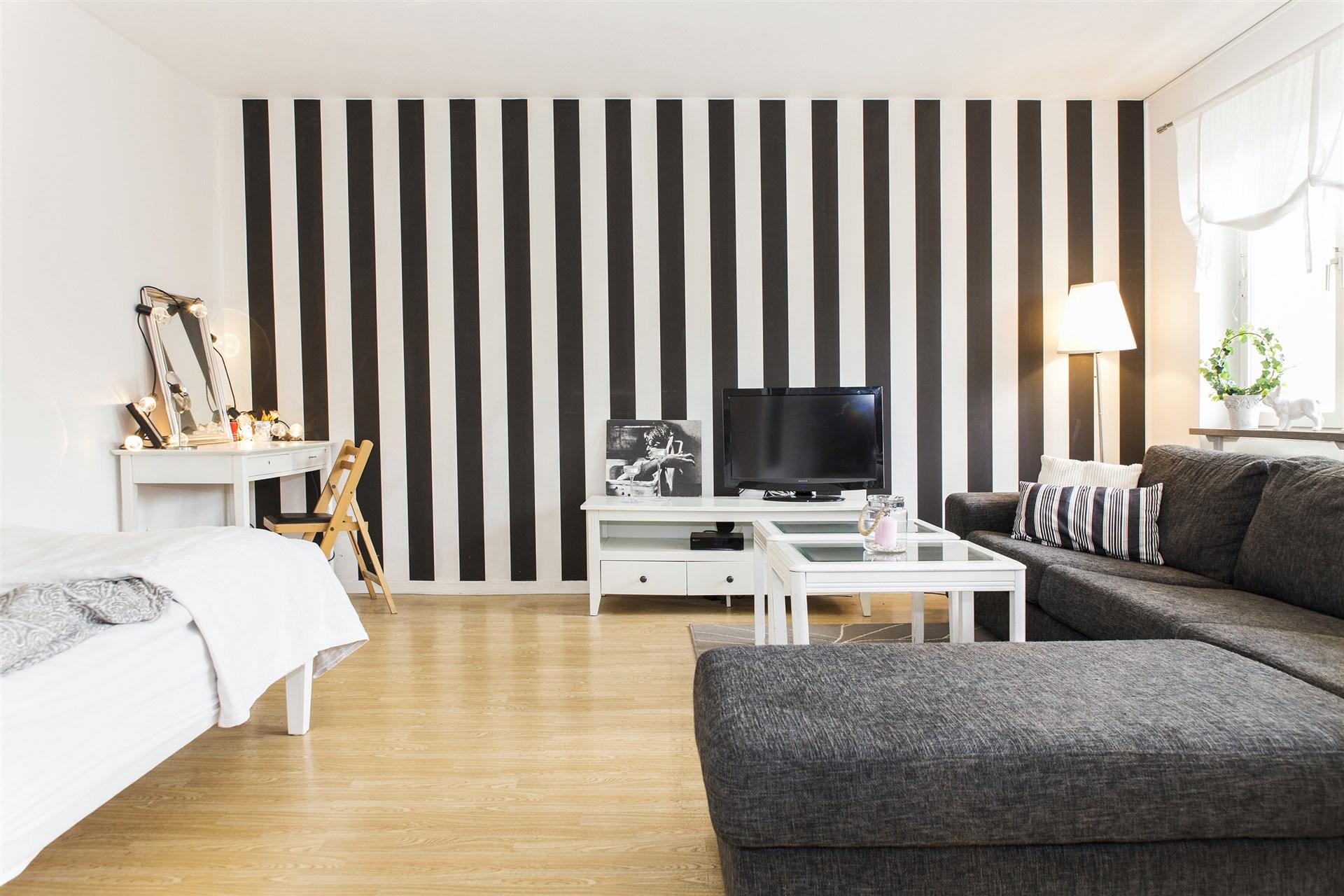 Rymligt och möblerbart rum