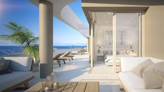Lyxiga lägenheter i vackra Mijas