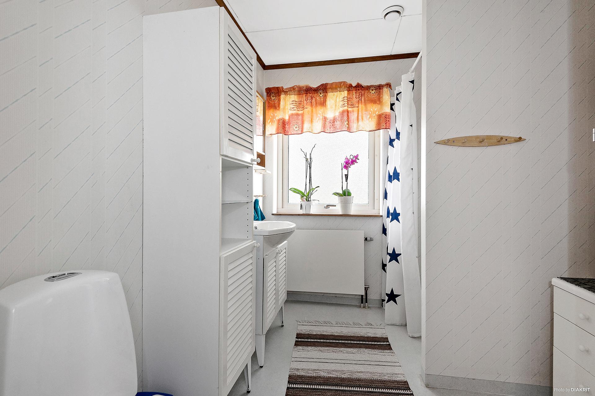 Badrum (WC med dusch)