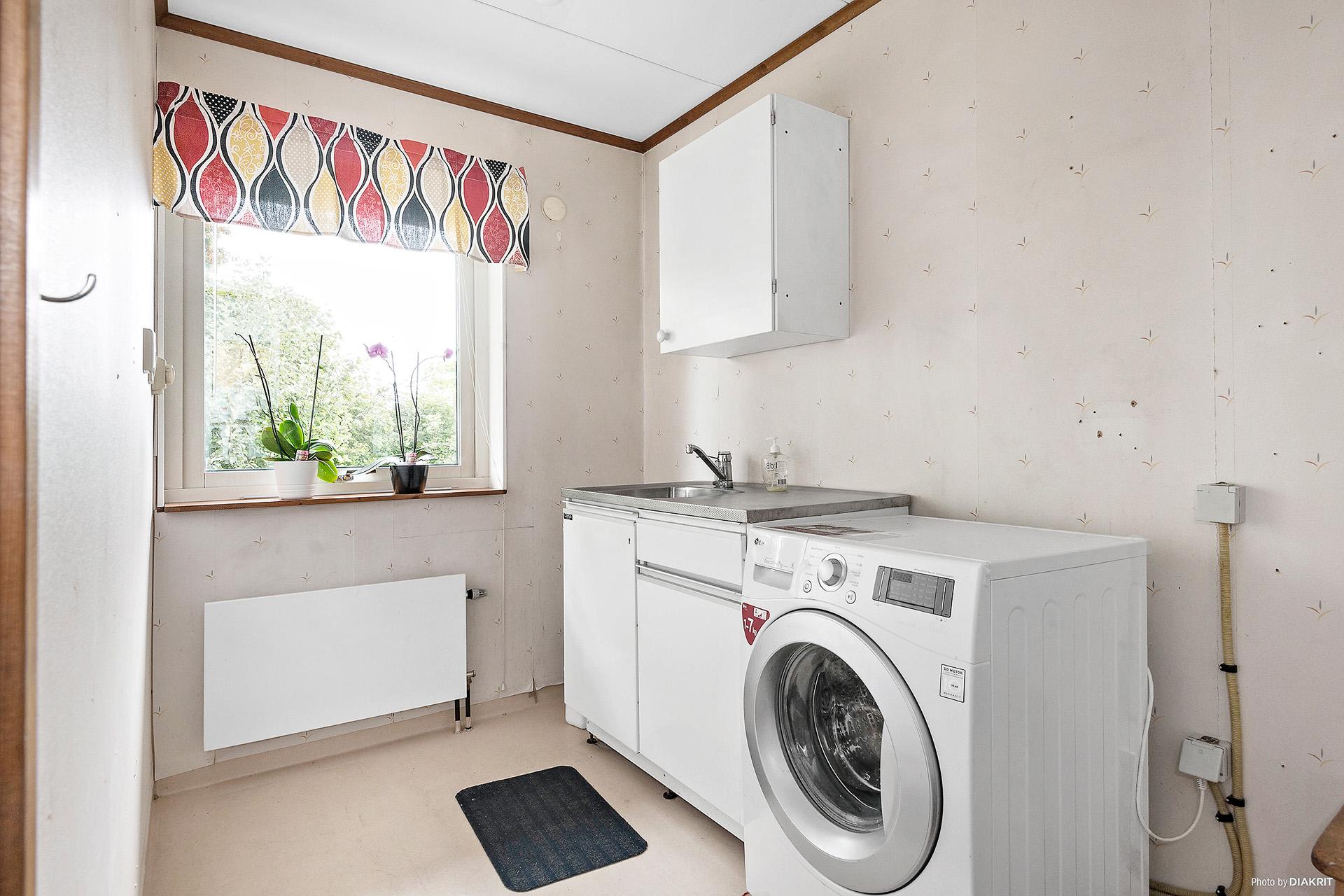 Tvättstuga i groventré