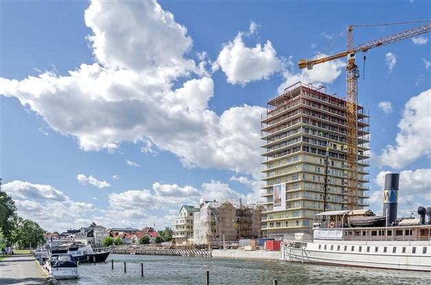 På skördevägen har du nära till det mesta, som attraktiva Nya Hamnen med torg och restauranger