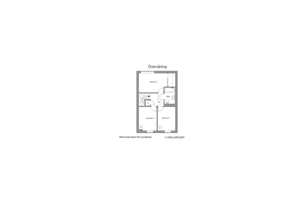 Planlösning våningsplan