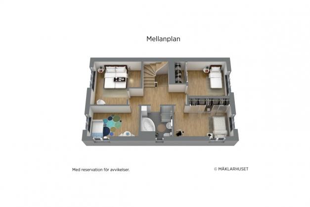 Mellanplan 3D