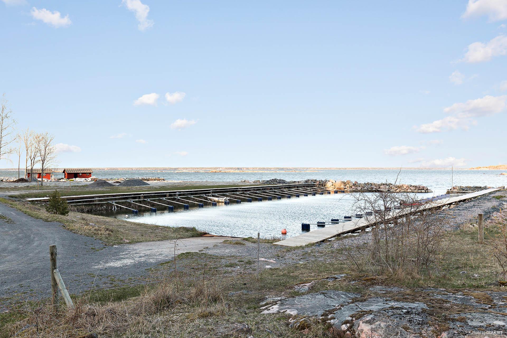 Hamnen i Stenskär