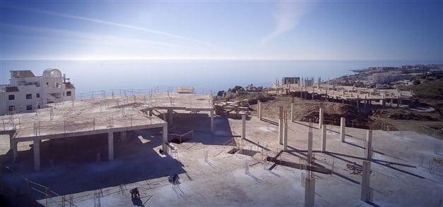 Byggarens bild - Utsikt mot Torrox i väster