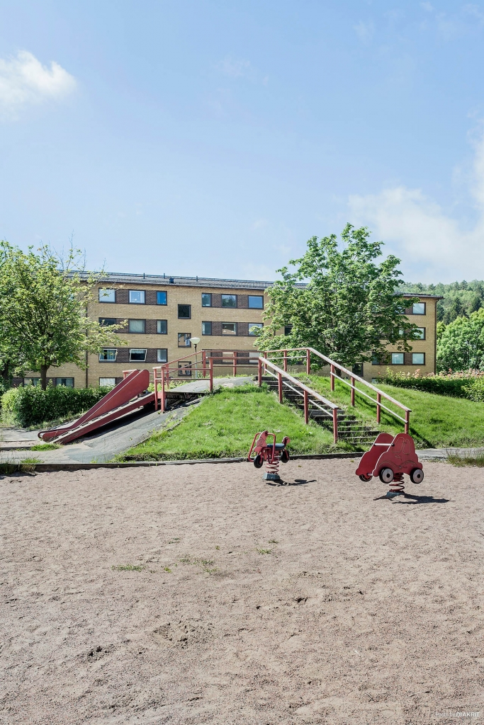 Lekplats för barnen.