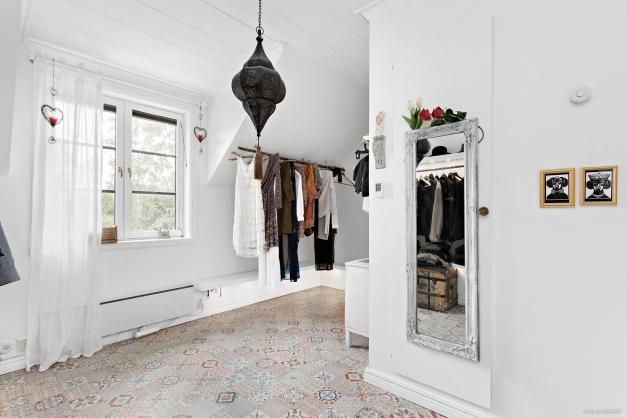 Walk in closet / Sovrum