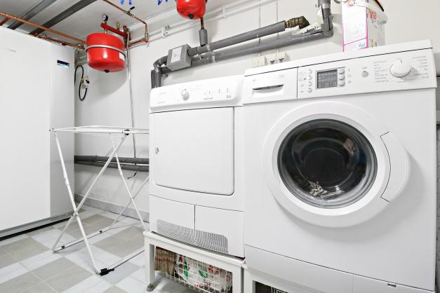 Tvättstuga källarplan