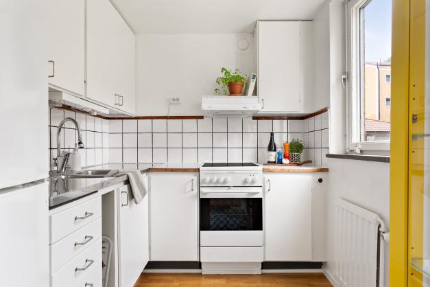 Kök med mycket förvaringsmöjligheter