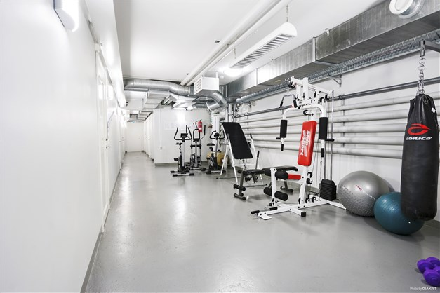 Gym i källaren