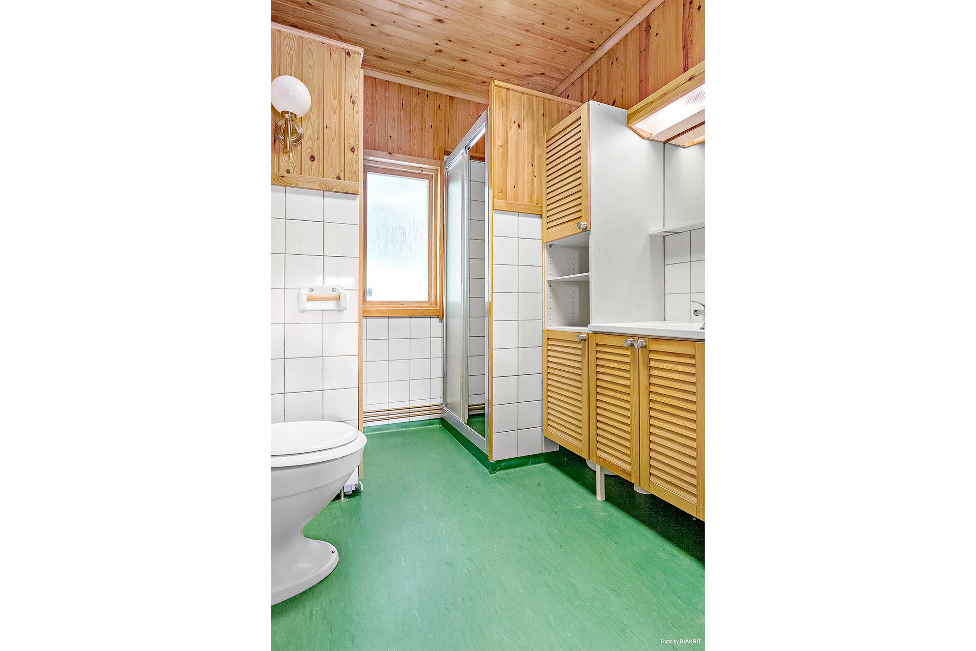 Duschrum med WC.