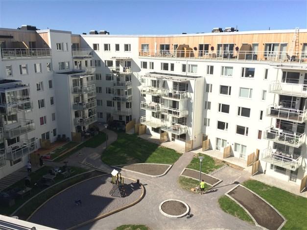 Lägenhet med två balkonger!
