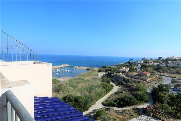 Utsikt från balkon