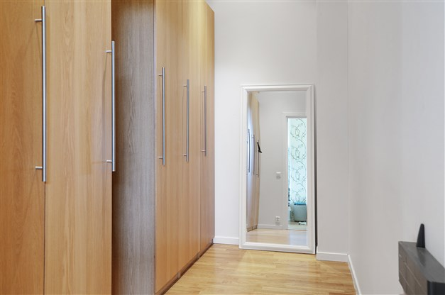 Dressingroom intill sovrum 1