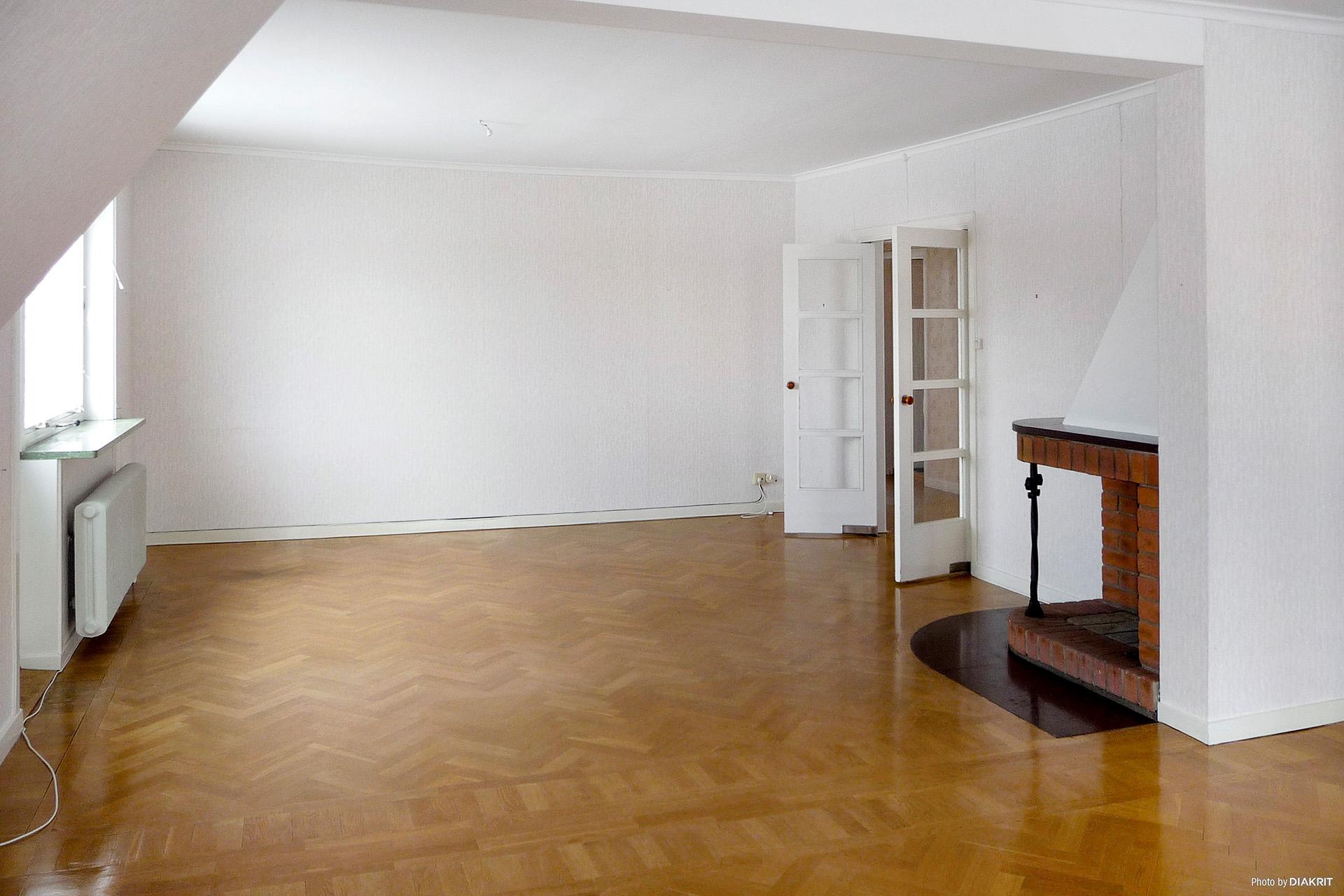 Övervåning, vardagsrum