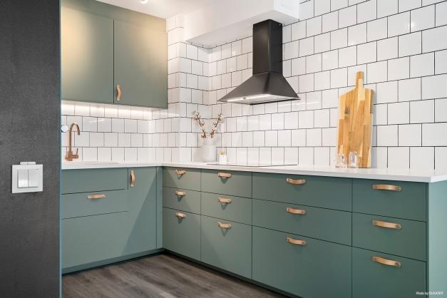 Modernt Ikea kök insatt 2020.
