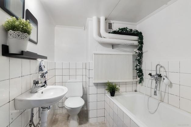 Badrum källare